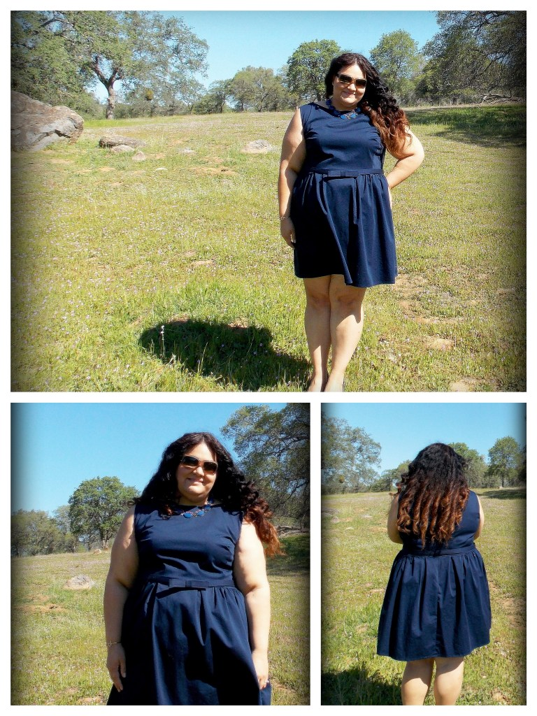 navy sateen collage