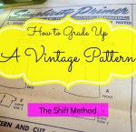 How to Grade Up a Vintage Pattern:  The Shift Method