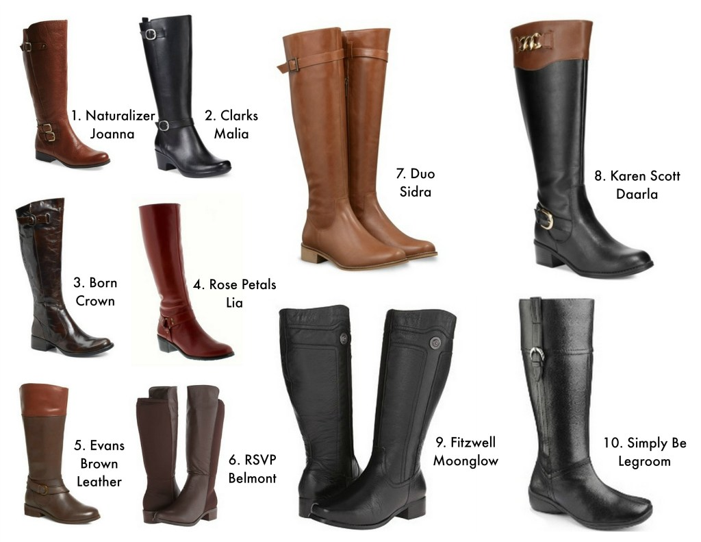 riding boots collage