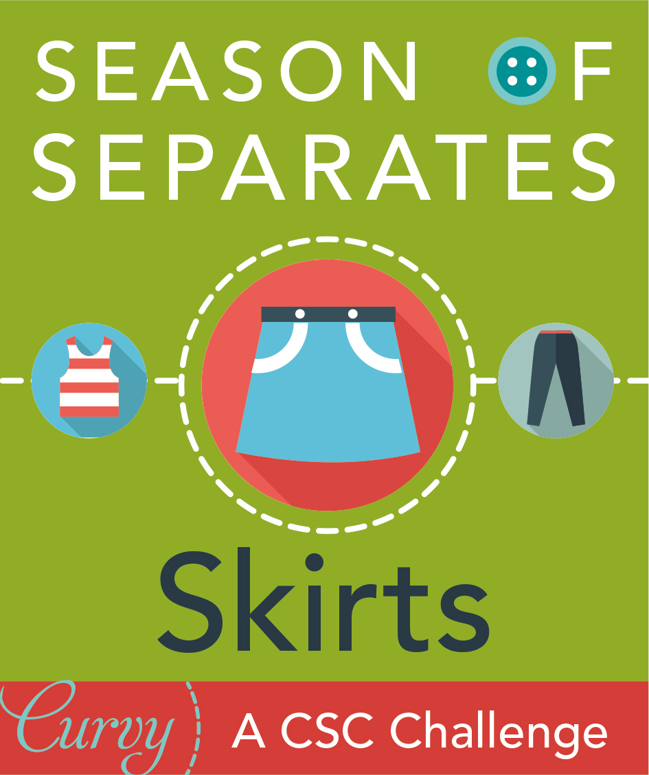 Season of Separates sew along at the Curvy Sewing Collective