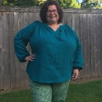 Pattern Review: HotPatterns 1169 Refined Peasant Blouse