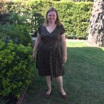 Pattern and Book Review: Plaid Rockabilly Dress from Gertie's Ultimate Dress Book