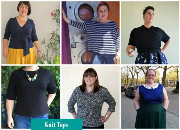 knit blouses