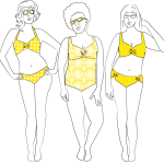 Curvy Swimsuit Sewing Pattern Round-Up