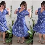 Pattern Review: Wardrobe by Me Curvy Diana Wrap Dress