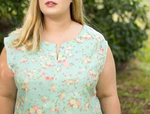 Idle Fancy - Blank Slate Leralynn Dress - Nani Iro Fabric-24