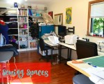 CSC Sewing Spaces:  Suzy