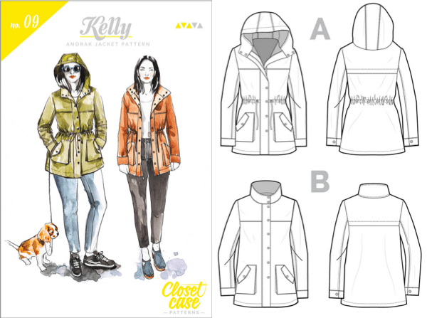 Closet Case Files - Kelly anorak jacket