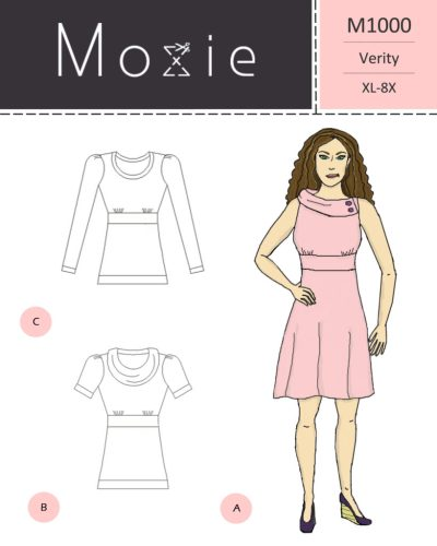 Moxie Patterns - Verity Dress