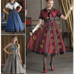 Pattern Review: Simplicity 8187 (Misses' Costume Dress and Cropped Jacket)