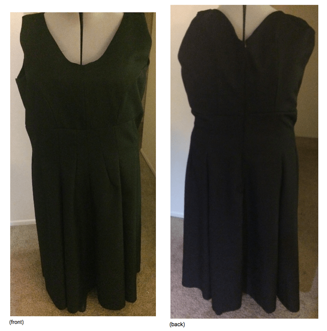 Simplicity 8187 - Front and Back