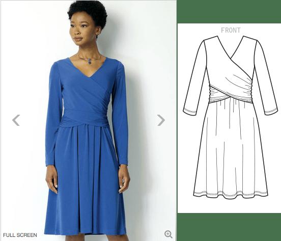 B6411 - Lisette dress
