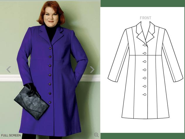 B6430 - Coni Crawford coat