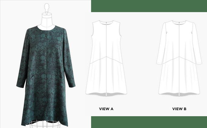Grainline Studio - Farrow Dress