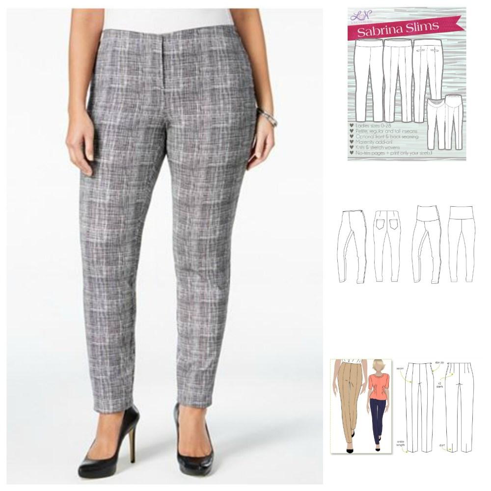 Pantspiration: RTW Inspiration + Sewing Pattern Options