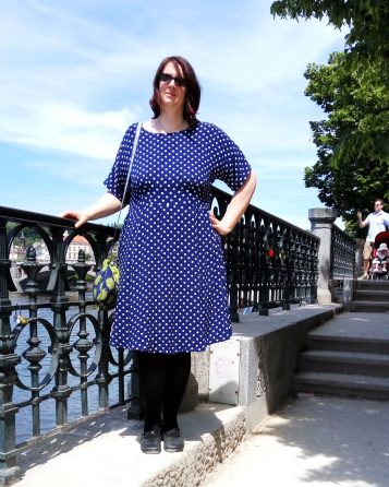 Anna Dress Polkadot