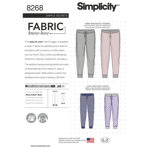 Pattern Review: Simplicity 8268