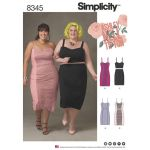 Pattern Review: Simplicity 8345 Plus Size Dress by Ashley Nell Tipton