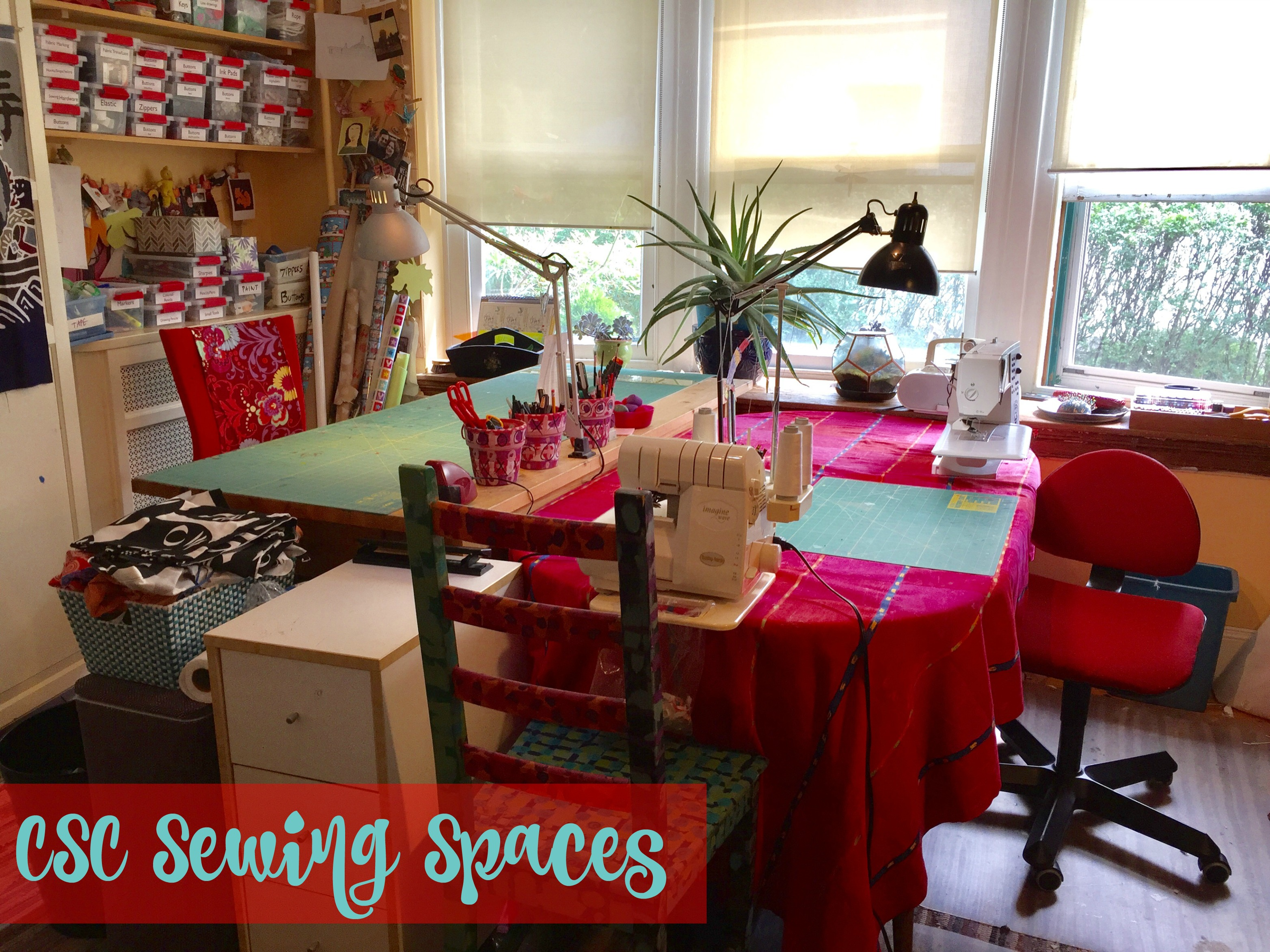 Superb CSC Sewing Spaces: Betsy Part 20