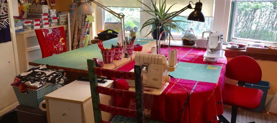 CSC Sewing Spaces:  Betsy