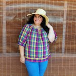 Pattern Review:  Scroop Henrietta Maria Top