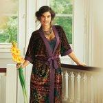 Pattern Review: Burda Neglige and Kimono Robe
