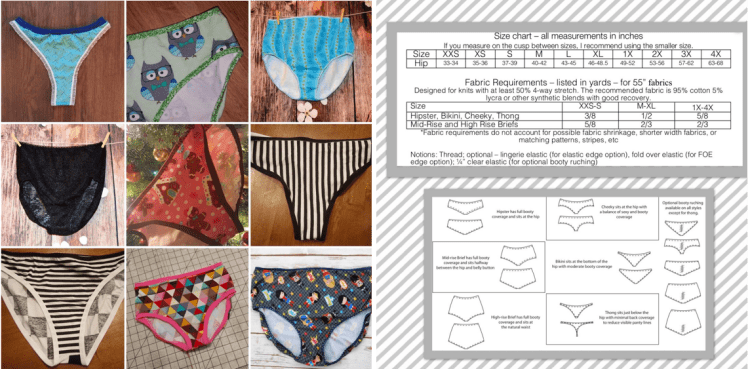 4f1504a74c38 Rad Patterns Lucky Undies hipster brief