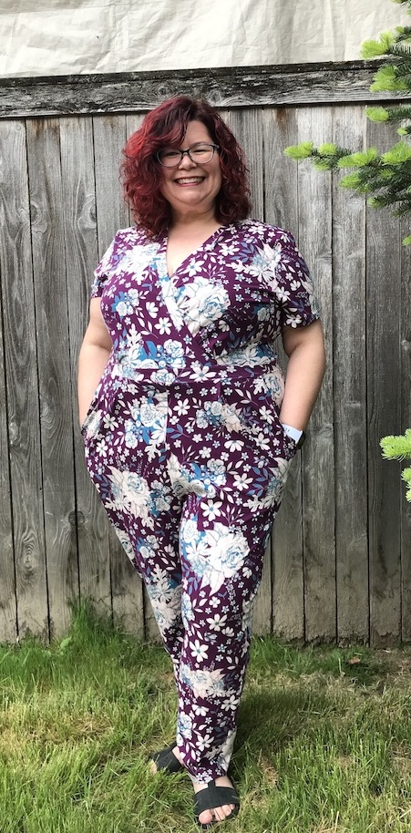 Sew Brave: A Curvy Deer & Doe Sirocco jumpsuit