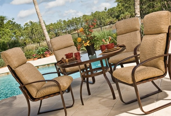 back outdoor chair cushions sale