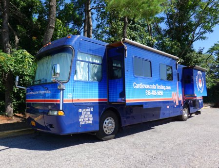 Advanced Cardiovascular Diagnostics mobile clinic
