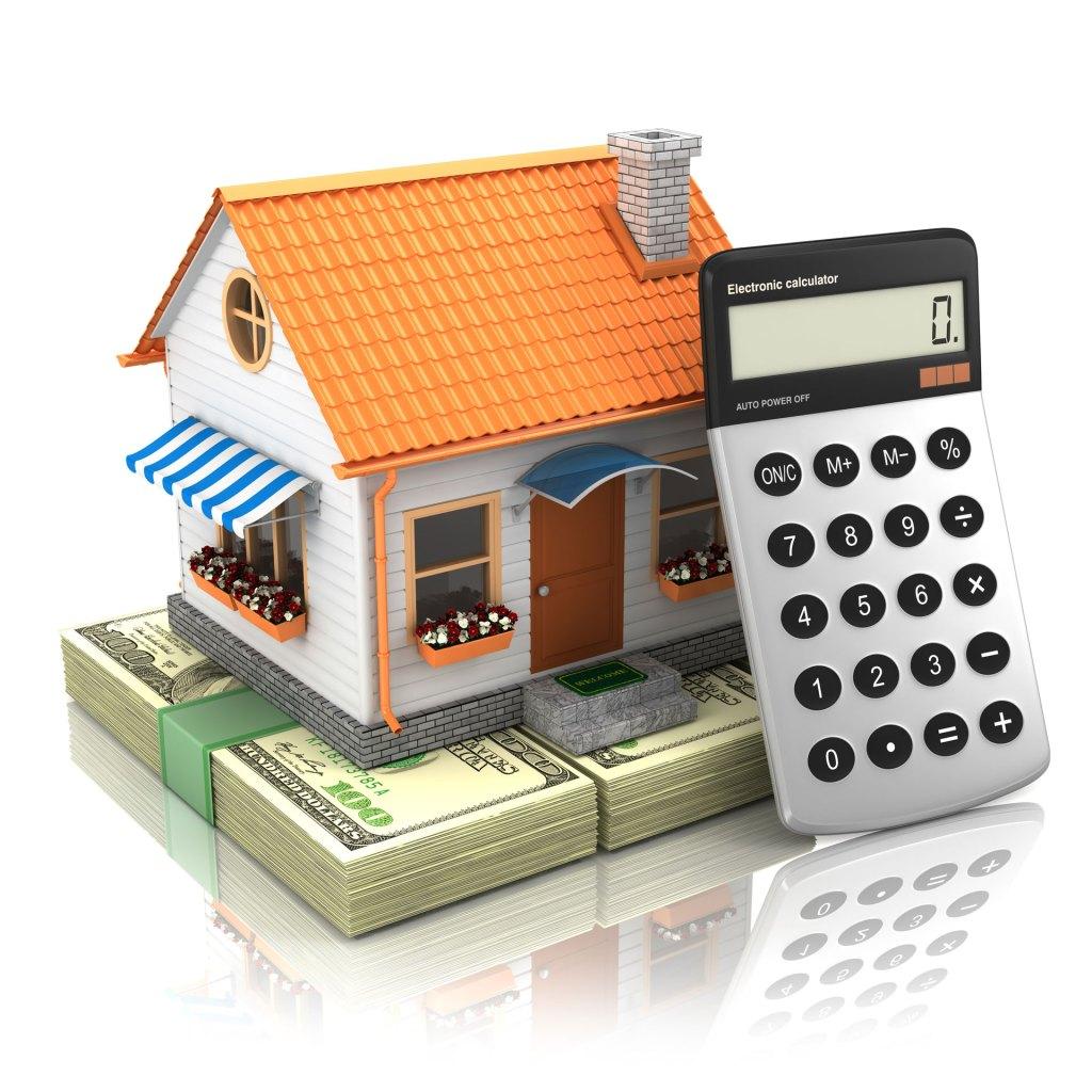 Home mortgage calculation representation