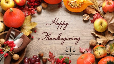 Happy Thanksgiving from Todd Cushner & Associates