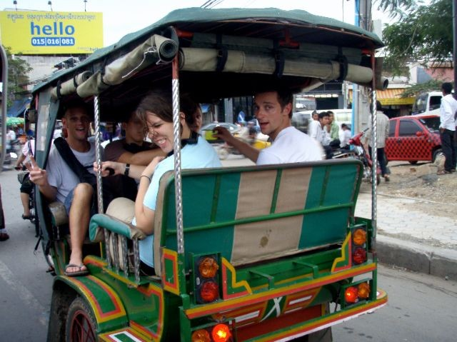 Getting Around in Phnom Penh