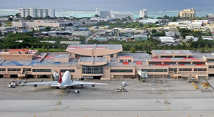 Getting to Guam by Air
