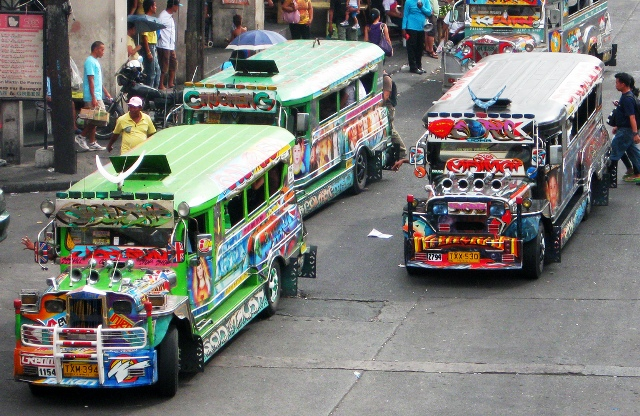 Getting around in Manila