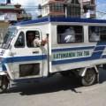 Getting around in Kathmandu by tuk-tuk