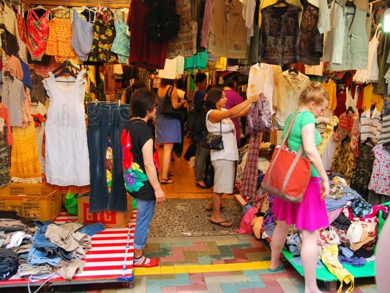 Shopping in Nampo-dong, Busan