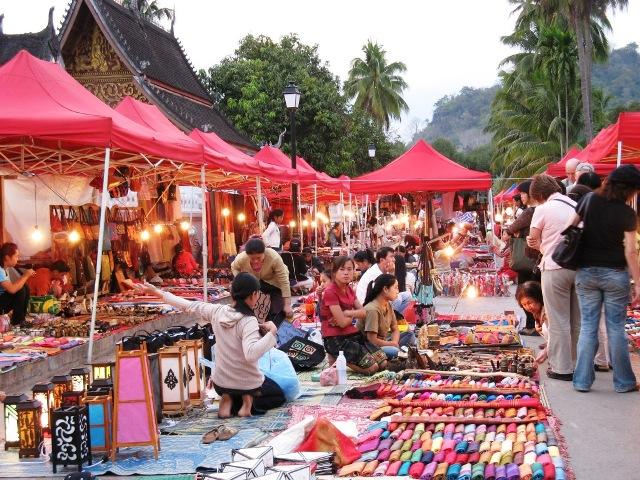 Shopping in Luang Prabang