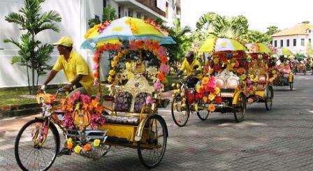 Getting around Malacca