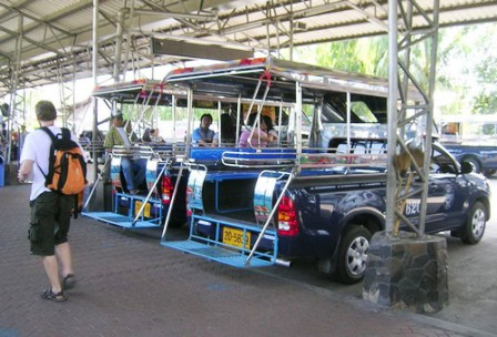 Getting around Pattaya