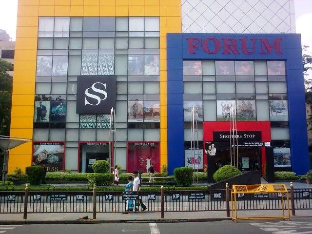 Shopping in Calcutta