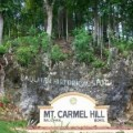 Mt Carmel Hill in Bohol