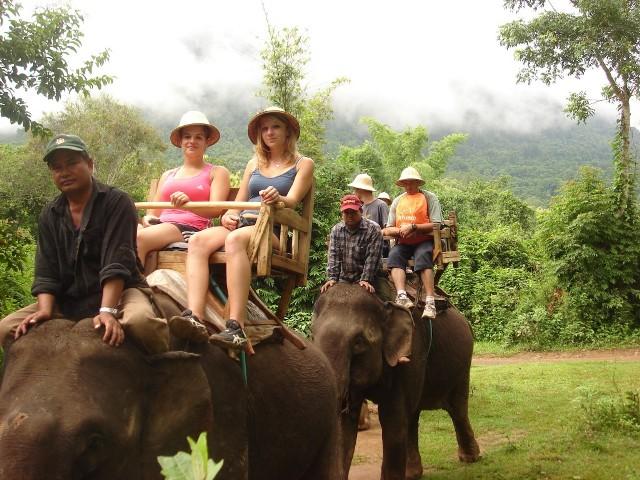 Ecotouring in Vientiane