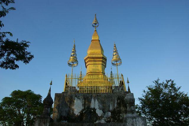 Phou Si in Luang Prabang