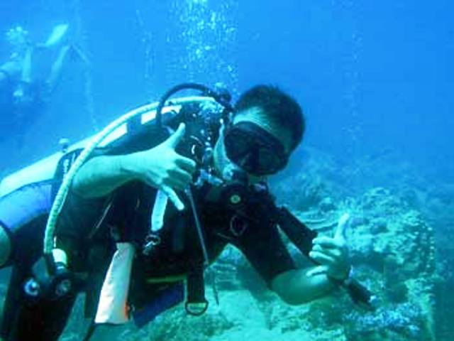 Scuba Diving in Sihanoukville