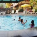 Swimming in Surabaya