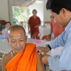 Health in Vientiane