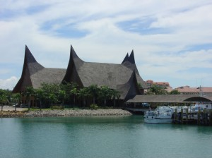 Waterfront City in Batam Island