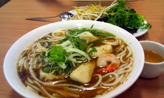 Eating and Drinking in Ho Chi Minh, bun mam