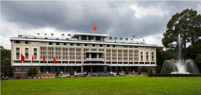 Reunification Palace in Ho Chi Minh